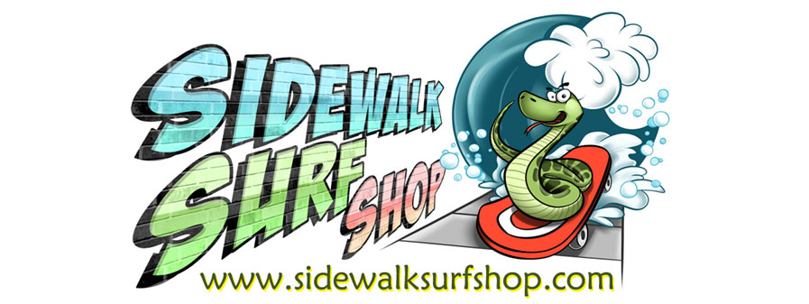 Sidewalk Surf Shop header image
